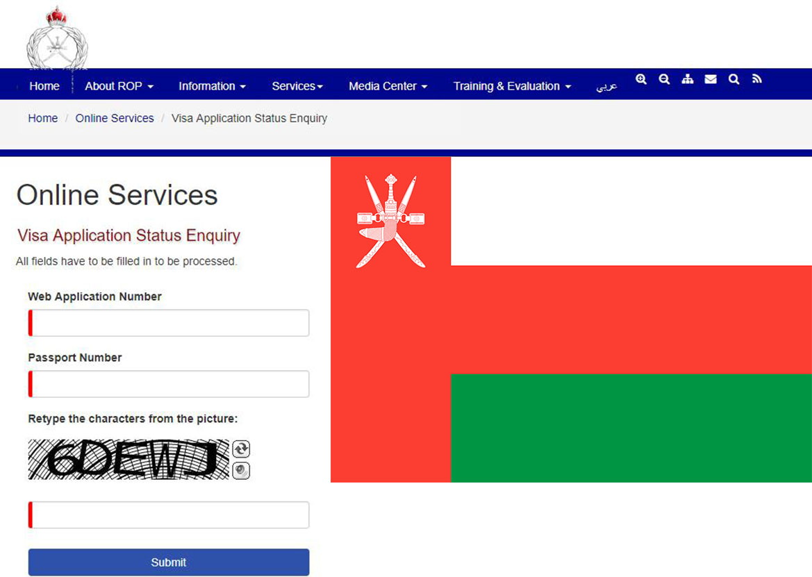 How to check if my Oman visa is original or fake?